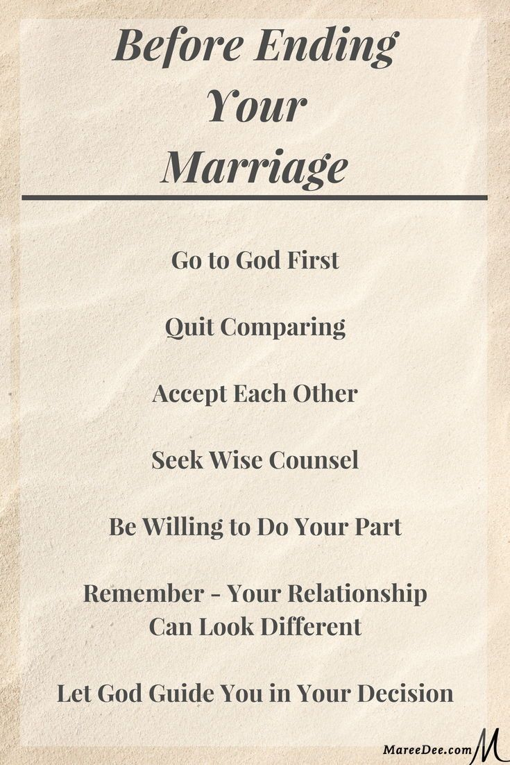 When You Think Your Marriage Will Fail | Failing marriage ...
