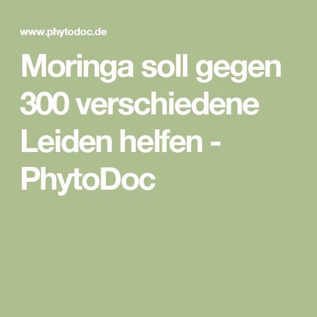 Moringa soll gegen 300 verschiedene Leiden helfen - PhytoDoc
