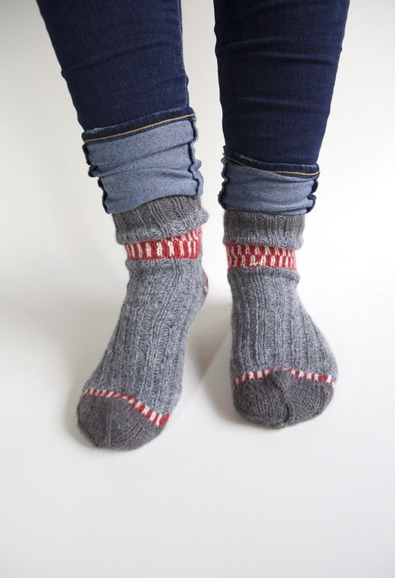 Wool socks lover. I just got a great pair of magenta ones for Christmas!