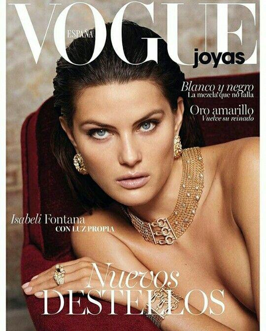 Isabeli Fontana for Vogue Spain Joyas