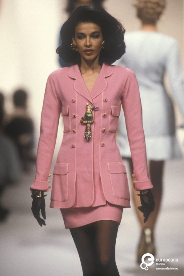 Chanel, Spring-Summer 1991, Couture on www.europeanafashion.eu