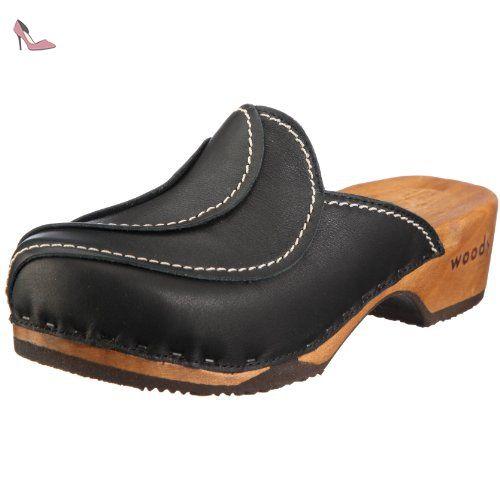 Woody Sofie 6520, Chaussures femmeNoirV.6, 36 EU