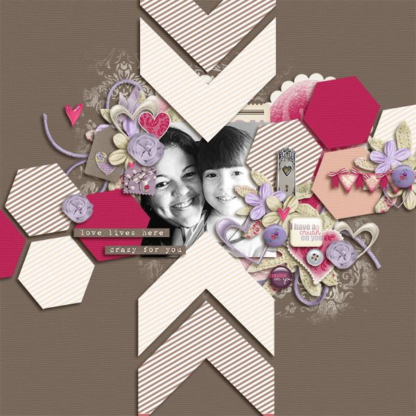 Crush by Laurie Anderson June 2013 Tuesday Template by Cluster Queen Creations