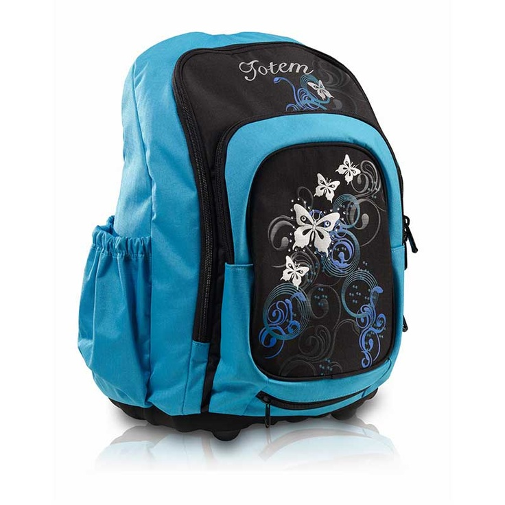 Totem Craze Funky Butterflies: an ergonomic school bag with style.