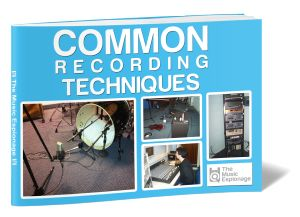 This guide to Common Recording Techniques will help you record all instruments to a higher and more professional standard. Giving you all the skills you need.