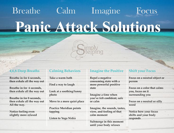 Panic Attack Solutions : Read Full Article for immediate relief from Anxiety and Panic Attacks. Find Answers for Anxiety and Panic disorder at Simplystepping.com