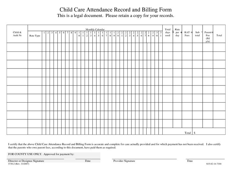 Day+Care+Attendance+Sheet+Printable+cakepins.com  Attendance Sheet For Students