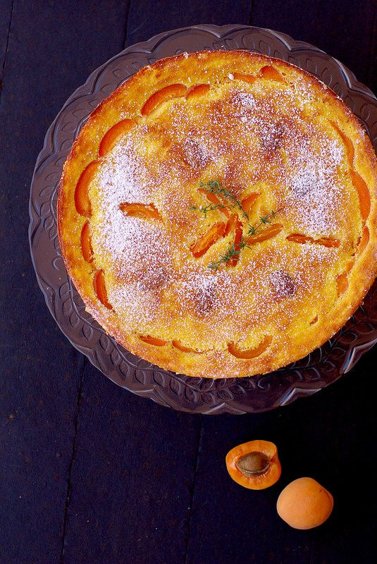 Fiadone aux abricots (recette) avec du broccio ou de la ricotta de brebis