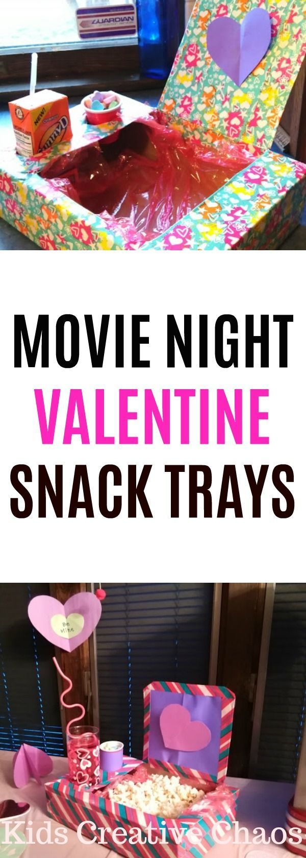 Valentine's Day Party Ideas for Tweens Tutorial #sleepoverparty Movie night Vale…