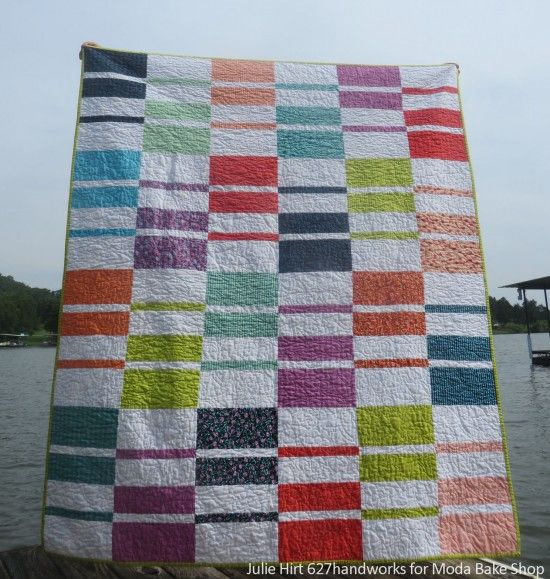 Color Weave Quilt Tutorial Quilts Modern Pinterest