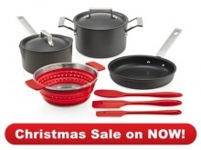 #kitchen essentials Bundle   #christmas sale now on $298.00  www.dorothywilliams.thechefstoolbox.net