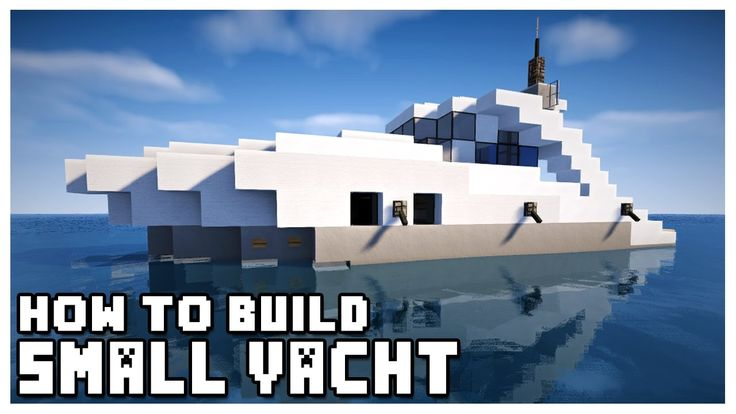 Pretty nice How to Build a Small Yacht in Minecraft Check more at http://dougleschan.com/the-recruitment-guru/yacht/how-to-build-a-small-yacht-in-minecraft/
