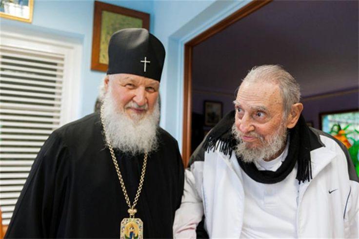 El patriarca ruso Kiril visitó a Fidel Castro en La Habana | Radio Panamericana