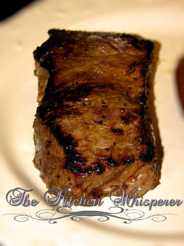 I followed this recipe and it is NOT lying-- best steak I've ever made!!