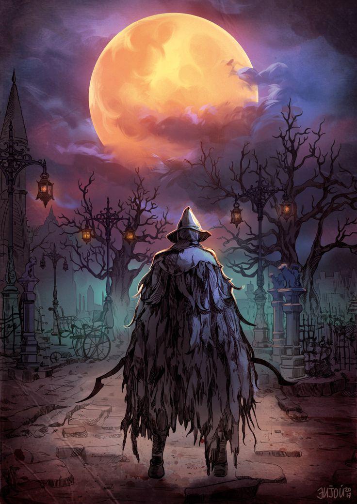 Bloodborne: Eileen the Crow. By Natasha enijoiart.tumblr.com