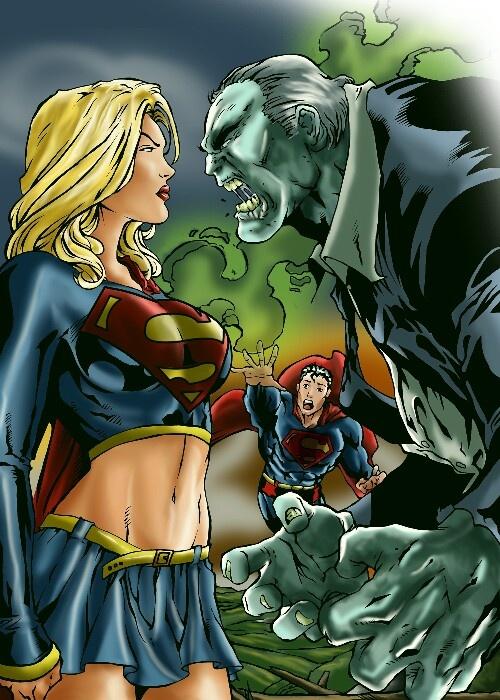Supergirl vs. Solomon Grundy