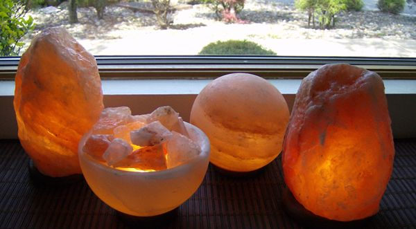 Himalayian Salt Lamps -- best lamp ever. Must have for allergy sufferers . Cleans the air. This company have the best products ever.