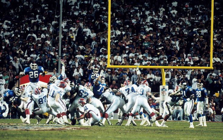 Giants vs Buffalo Super Bowl XXV January 27, 1991