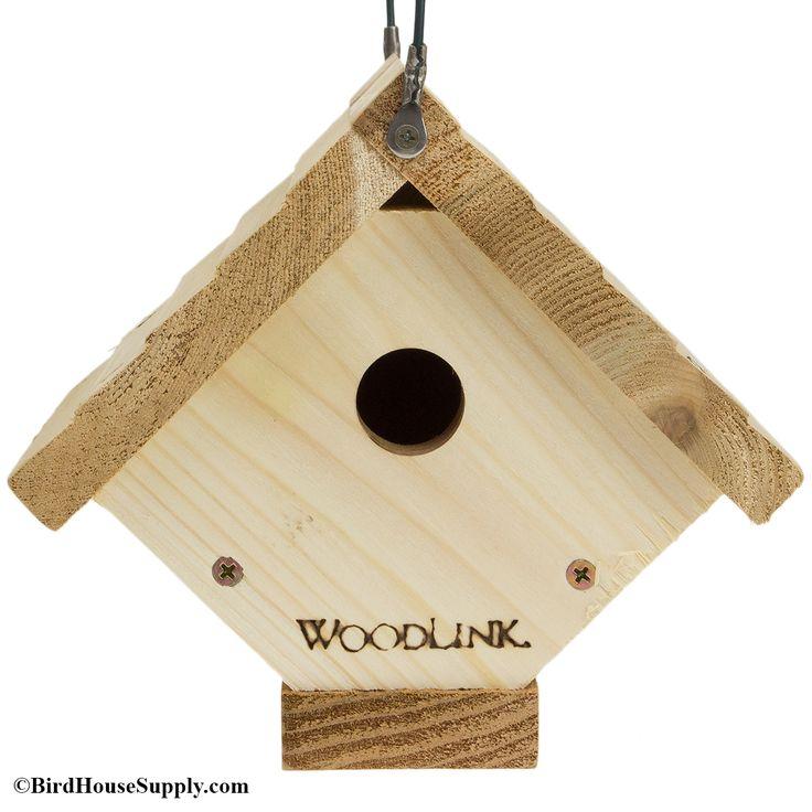 BirdHouseSupply.com - Woodlink Cedar Traditional Wren House Bird House, (https://www.birdhousesupply.com/woodlink-cedar-traditional-wren-house-bird-house/)