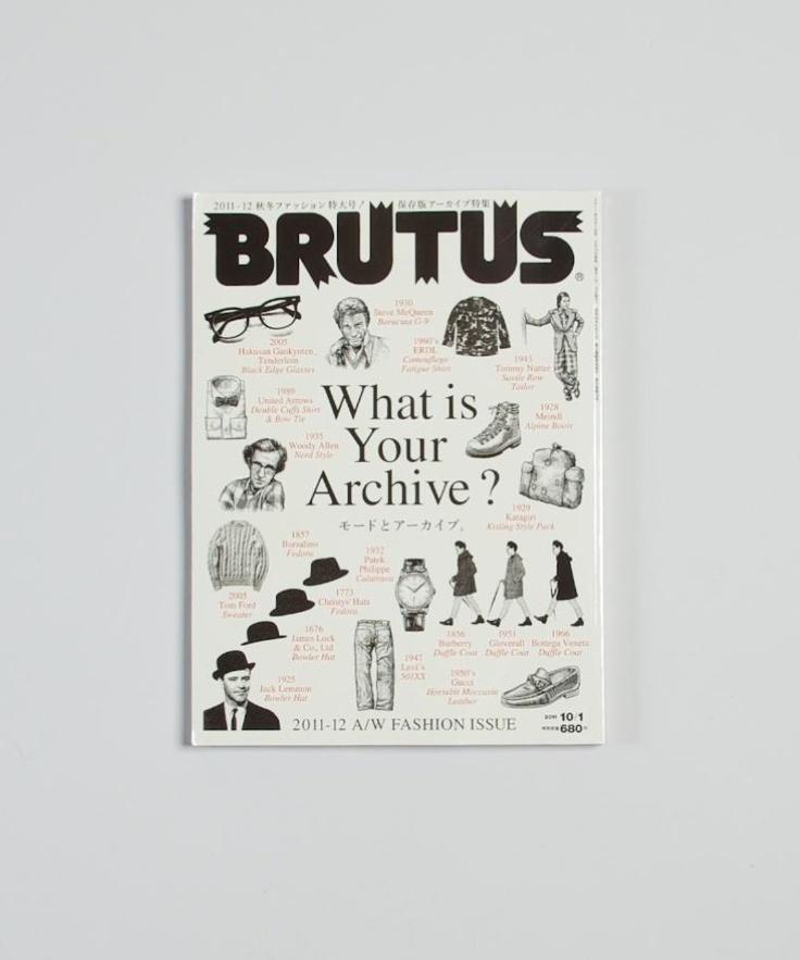 Brutus #magazine #cover #brutus