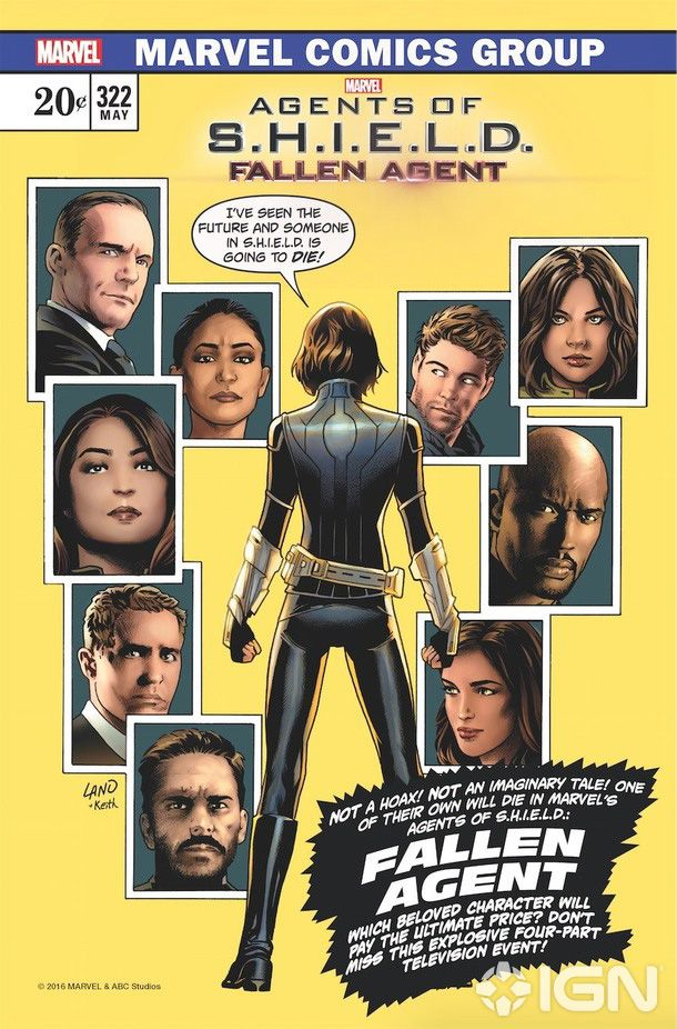 Not long after Supergirl used a classic comic book cover to promote the Supergirl/Flash cross over, Agents of SHIELD is also using a classic comic cover to promote an upcoming episode. Plus news on the MCU.