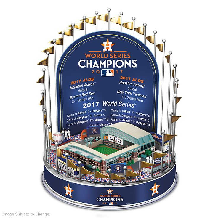 128640001 - Astros 2017 World Series Champions Lighted Musical Carousel