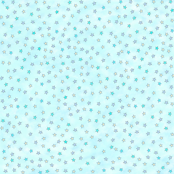 blue star 12x12 inch printable for scrapbooking and paper