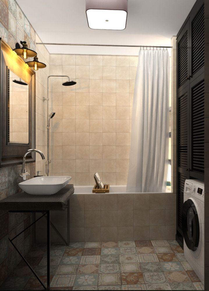 Фото из проекта: «Уютный лофт». Дизайн интерьера двухкомнатной квартиры (73 кв. м) в Долгопрудном, в ЖК «Московские водники», для семьи с ребёнком