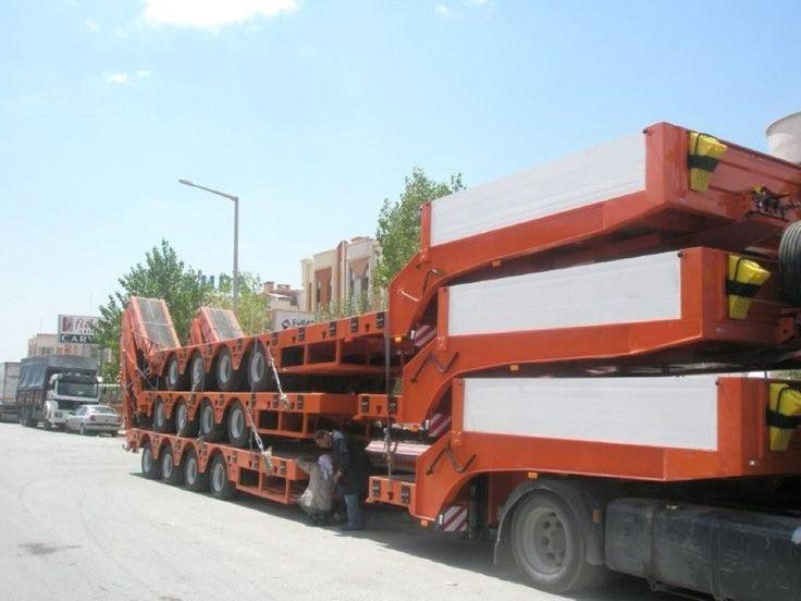 4 Axles Lowbed Trailer - Alura Trailer - Turkey
