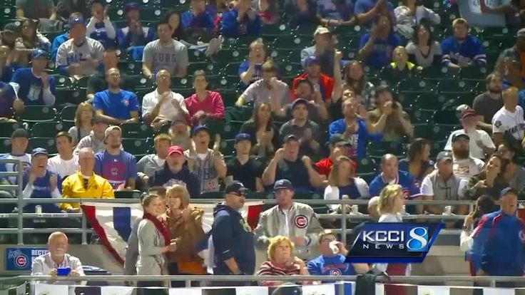 More than 2,500 fans packed Principal Park, watching the wild card unfold on the big screen.