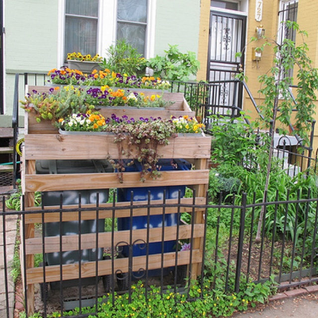 1000 Images About Garbage Can Shed On Pinterest: 13 Best Images About Garbage Cans Outside On Pinterest