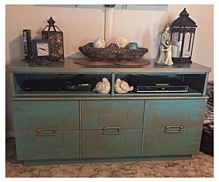 Repurposed Beat Up Dresser Into Custom Entertainment Console ! By Refined  Rubbish Of San Angelo Tx