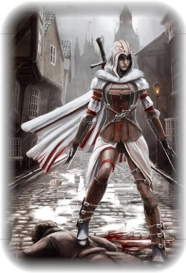 Female Assassin Art #AssassinsCreed