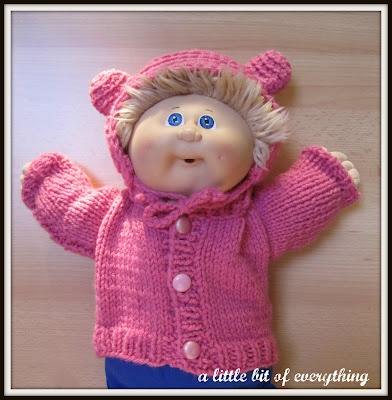 88 best cabbage patch dolls images on pinterest doll patterns a little bit of everything needlework pink cabbage patch doll sweater hat dt1010fo
