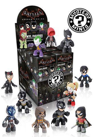 Mystery Minis Blind Box: Batman Arkham Games   Funko