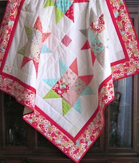 Ruby Star Quilt