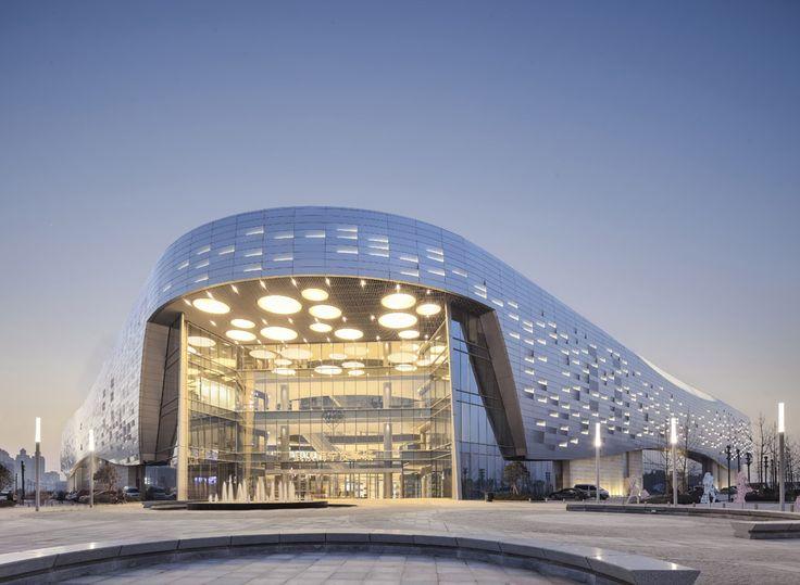 Haining Leather City, Wuhan, China / Highthink architects