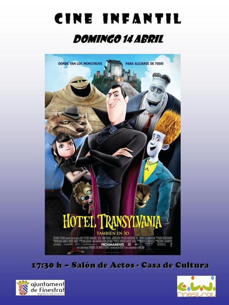 "Sesión de cine infantil "" Hotel Transylvania"""