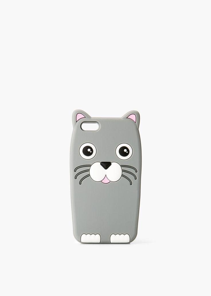 FUNDA IPHONE 5/5S CAT C 9,99€