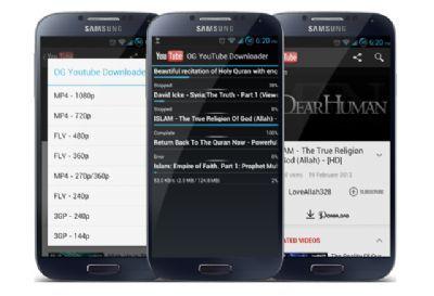 Descarga música mp3 en tu android con OGYoutube