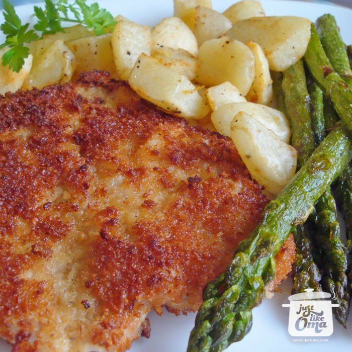 German Pork Schnitzel including a Jägerschnitzel Sauce. Check out http://www.quick-german-recipes.com/german-schnitzel-recipe.html A quick and easy meal. ❤️ Like it! Share it!   Pin it! Make it! Enjoy it!