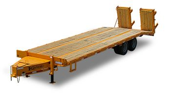 Flatbed Trailers - Paver http://www.kaufmantrailers.com/flatbed-trailers/paver-flatbed-trailers/