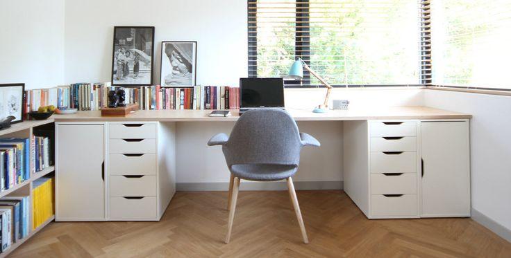 IKEA workdesk solution