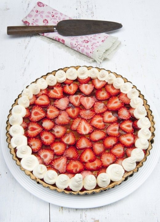 Now the summer is officially here, why not practice baking this delicious summer tart to enjoy on those long nights?  http://thehappyegg.co.uk/summer-tart/