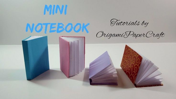 How to make a MINI NOTEBOOK  Tutorial By OrigamiPaperCraft  Do It Your...