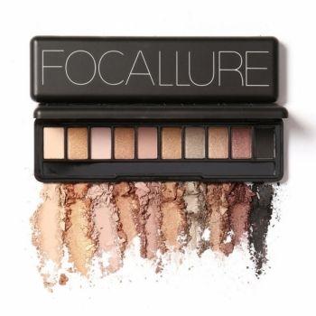 10 цветов Тени для век макияж Косметические Матовый Shimmer Eye Shadow Palette Set с зеркалом тени для глаз Губка