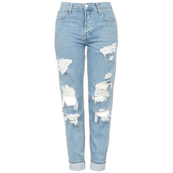 25  best ideas about Ripped denim jeans on Pinterest   Women's ...