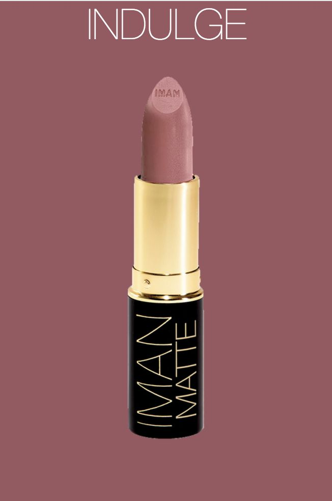 Indulge is a warm, mauvy, nude from the Luxury Matte Lipstick Collection. Perfect for spring!