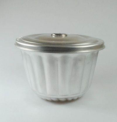 Forma aluminiowa do babki parzonej 2L. babka parzona PATISSE 0004023