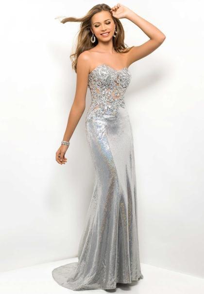 Blush 9500 at Prom Dress Shop